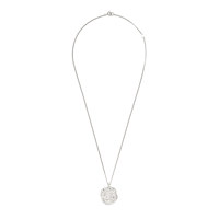[SILVER925]ROUGH PAINTING ROUND NECKLACE_SILVER