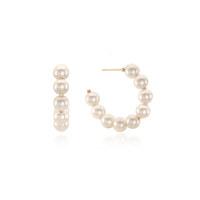 Hoop Pearl Earring