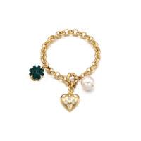Lucky Clover Charm Bracelet
