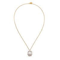 Alluring Cubic n Pearl Necklace