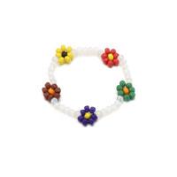 Flower Beads Bracelet_Vivid
