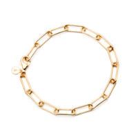charlotte chain bracelet-yellow gold