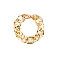 bold oval chain bracelet
