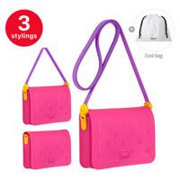 하트 가방 핑크
