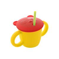 양손 빨대컵(레몬)