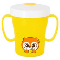 흘림방지빨대컵2-베이비부엉이(옐로우)