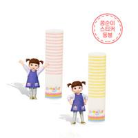 달콤발랄 콩순이  립밤 딸기(4g)+레몬(4g)
