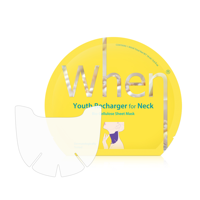 When_Youth Recharger for Neck 목 주름개선 팩/ 4매