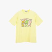 면 투게더 디노 반소매티셔츠/옐로우/S