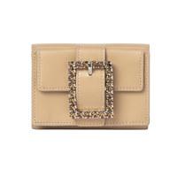 Lady Embellished Wallet_Caramel