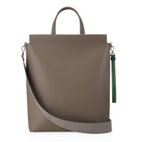 TOTE BAG 30 BASIC LIZARD SET - TAUPE
