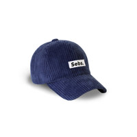 Sebs. CORDUROY_BLUE BALL CAP