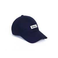 Sebs. COTTON_NAVY BALL CAP