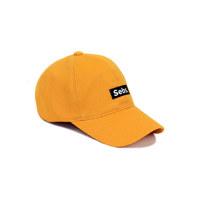 Sebs. COTTON_MUSTARD BALL CAP