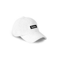 Sebs. CORDUROY_WHITE BALL CAP