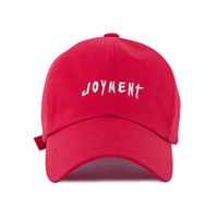 JOYMENT-COTTON FONT-02 BALL CAP(RD)
