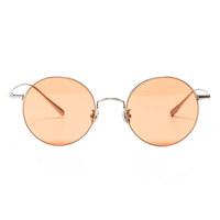 Luc / Tendon silver / Brown orange Lens