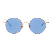 Luc /Tendon rose gold / blue Lens