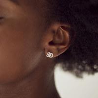 MINI TRIPLE EARRINGS (Sterling Silver)