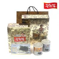 달인 김병만 광천김 5호 선물 세트