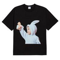 베이비페이스 반팔 토끼 블랙 1