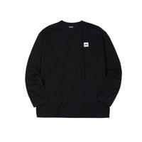 베이직 롱 슬리브 티셔츠 블랙_XS