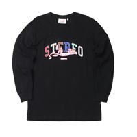 [FW19 Pink Panther] Stereo Logo Long Sleeve