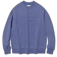 SUBPOP CREWNECK JS [SOFT PURPLE]