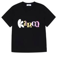 KANCO TYPO CROP TEE black