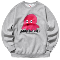 OCTOPUS SWEATSHIRT GREY