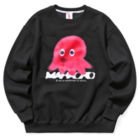 OCTOPUS SWEATSHIRT BLACK