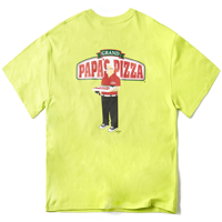 PIZZA BOY CHICKEN KILLER T-SHIRT(NEON GREEN)