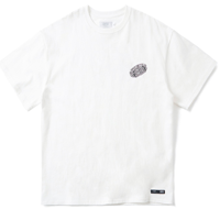 BLACK HOLE LOGO T-SHIRT(WHITE)