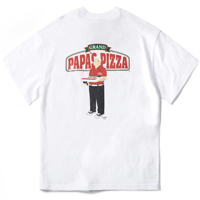 PIZZA BOY CHICKEN KILLER T-SHIRT(WHITE)