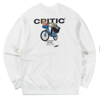 CHICKEN KILLER CITY BIKE SWEATSHIRT(WHITE)