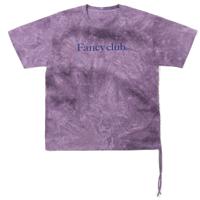 [NF] FANCY CLUB TIE DYE SHIRRING TEE (PURPLE) (20SS-F528)