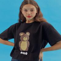 AQO ERIC BEAR T-SHIRTS BK 1