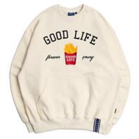 10TH GOOD LIFE SWEAT SHIRT_M_OATMEAL
