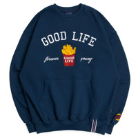10TH GOOD LIFE SWEAT SHIRT_M_BLUE
