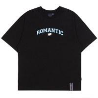 ROMANTIC ARCH LOGO TEE_M_BLACK