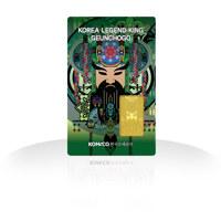 코리아 레전드 킹 카드형 골드 : 근초고왕