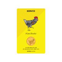 지갑 속 아트갤러리 카드형 골드 : 닭